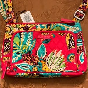 Vera Bradley Rumba Little Hipster bag.